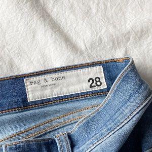 RAG & BONE Ankle Skinny Jeans -Size 28